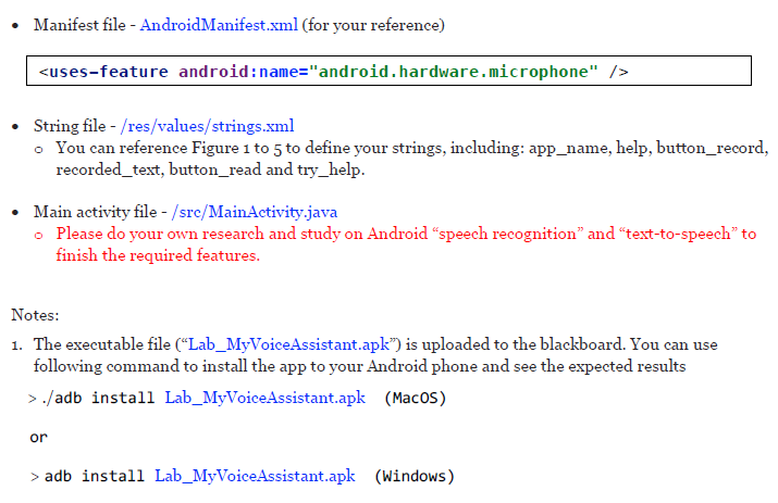 Android Studio) In This Assignment, We Would Like    | Chegg com