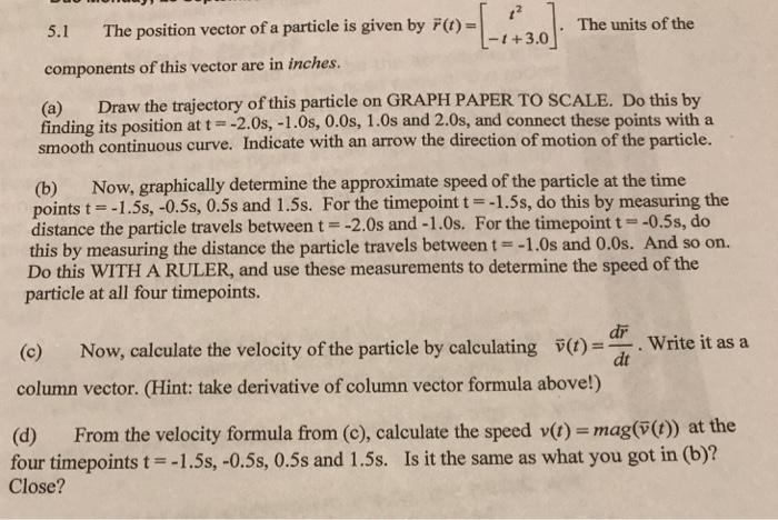 vector speed formula