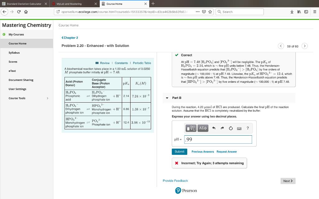 Standard Deviation Calculator MyLab And Mastering     | Chegg com