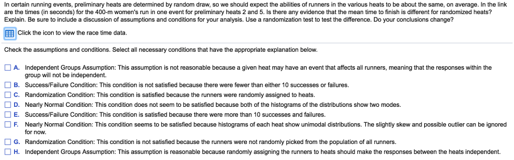 Solved  In Certain Running Events 85ed54dfd1
