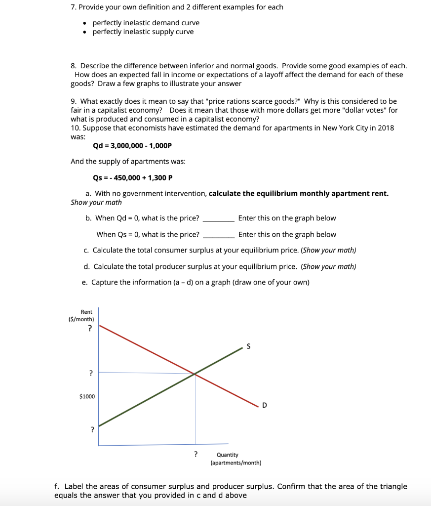 Solved 4 Draw A Graph To Illustrate Each Of The Followin