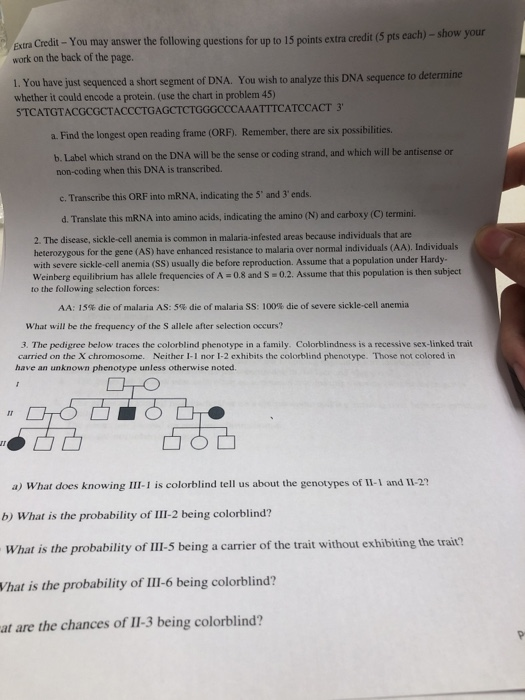 Solved: Extra Credit- You May Answer The Followi Work On T