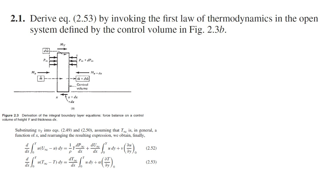 Solved: Question Is From Convective Heat Transfer Of Adria