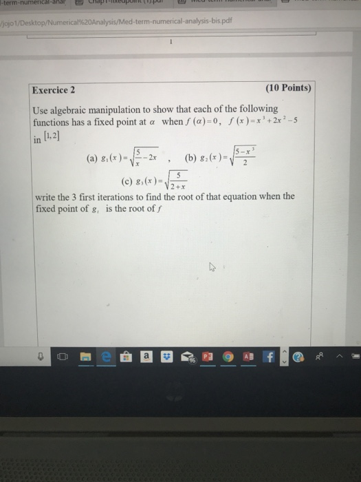 Solved: -term-numerical-anar Eychap 1-1' Ed Nt Ojo 1 /Desk