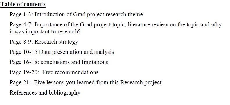 research project introduction