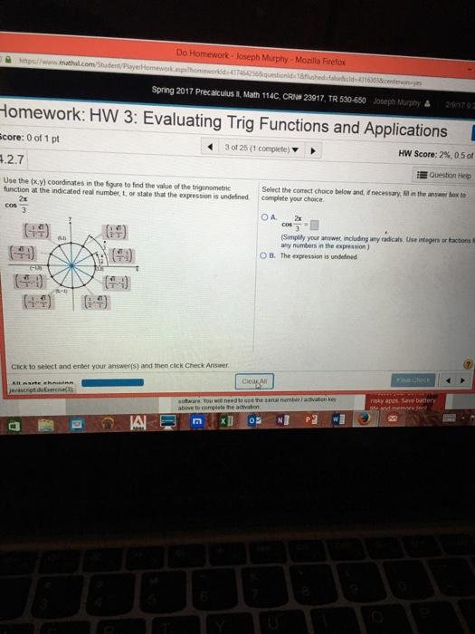 Do my trig homework for me