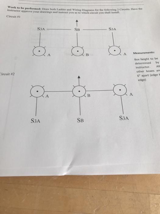 Nstuto Be Performed: Draw Both Ladder And Wiring D ... on ar diagram, cd diagram, er diagram, ph diagram, tv diagram,