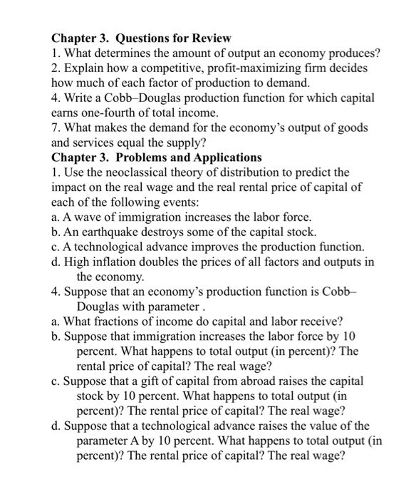 chapter12the open economy revisitedquestions for review1 Chapter 12 the open economy revisited questions for review 1 in the mundell–fleming model, an increase in taxes shifts the is curve to the left.