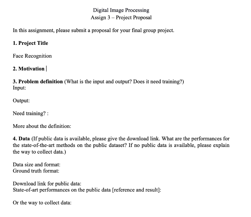 Solved: Digital Image Processing Assign 3