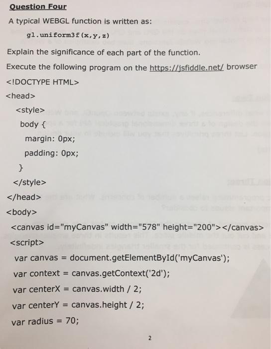Webgl 2d Text