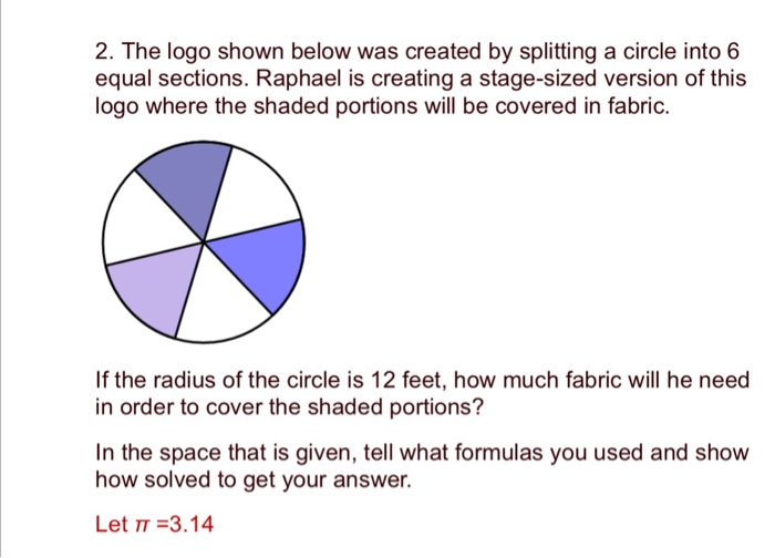 solved 2 the logo shown below was created by splitting a