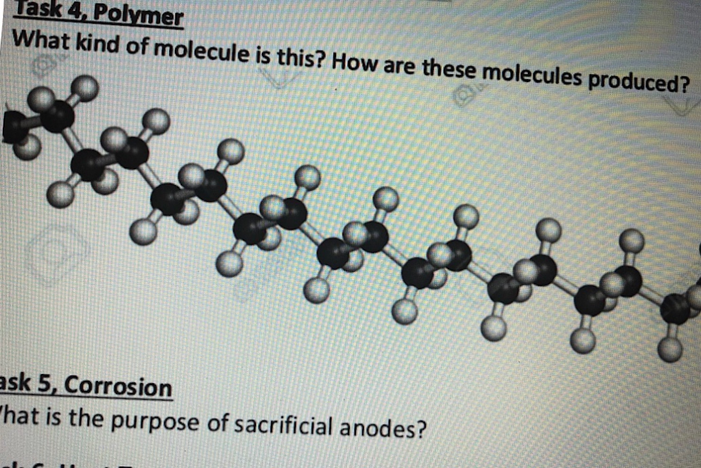 ask 4, Polymer What kind of molecule is this? How are these molecules produced? 유유유유 sk 5, Corrosion hat is the purpose of sa