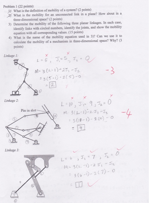 Solved Problem 1 22 Points J What Is The Definition O
