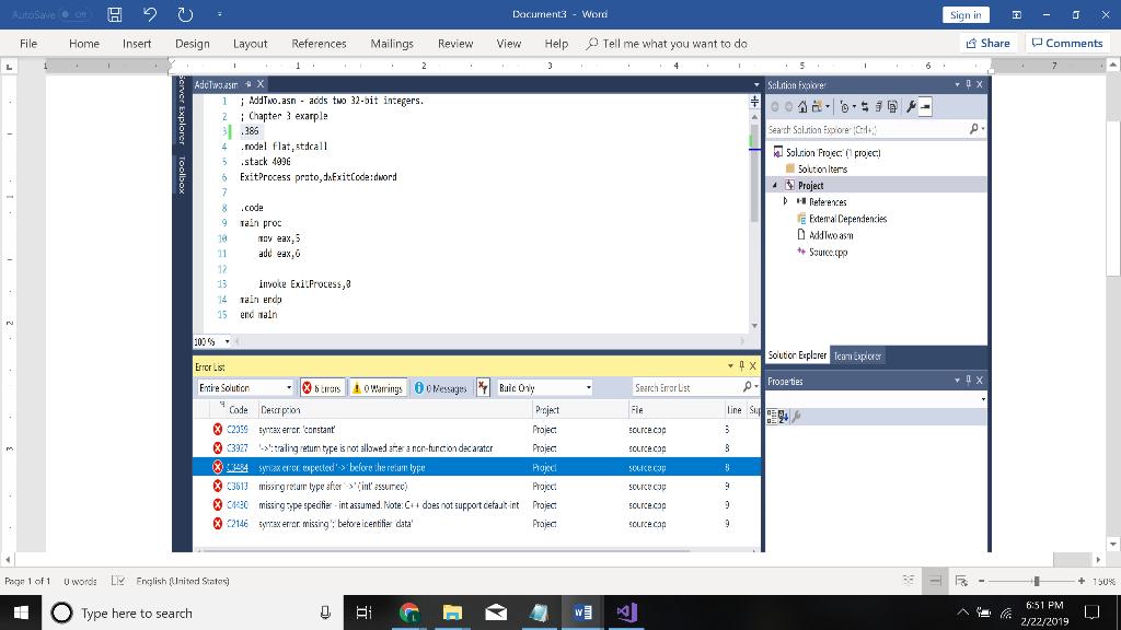 I Was Able To Run Windows Visual Studio 2017 Commu Chegg Com