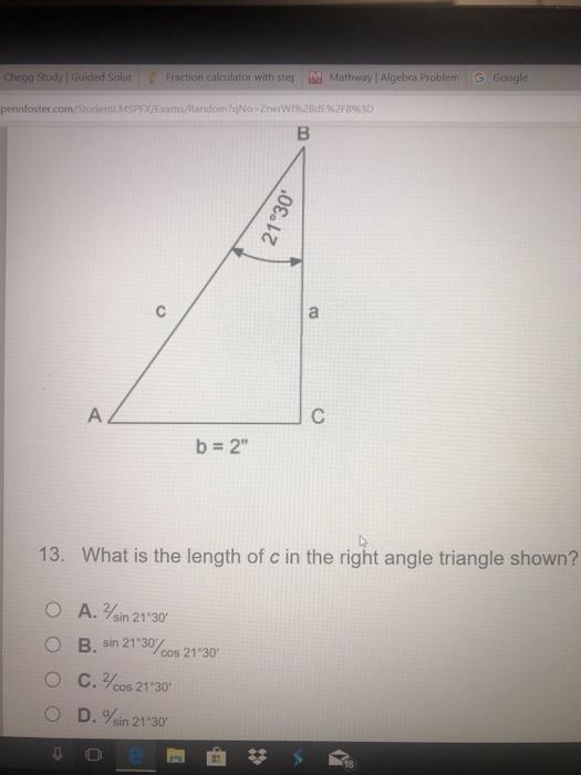 Solved: 了 ·td Mathway Alge Problem G Google Fraction C ... on