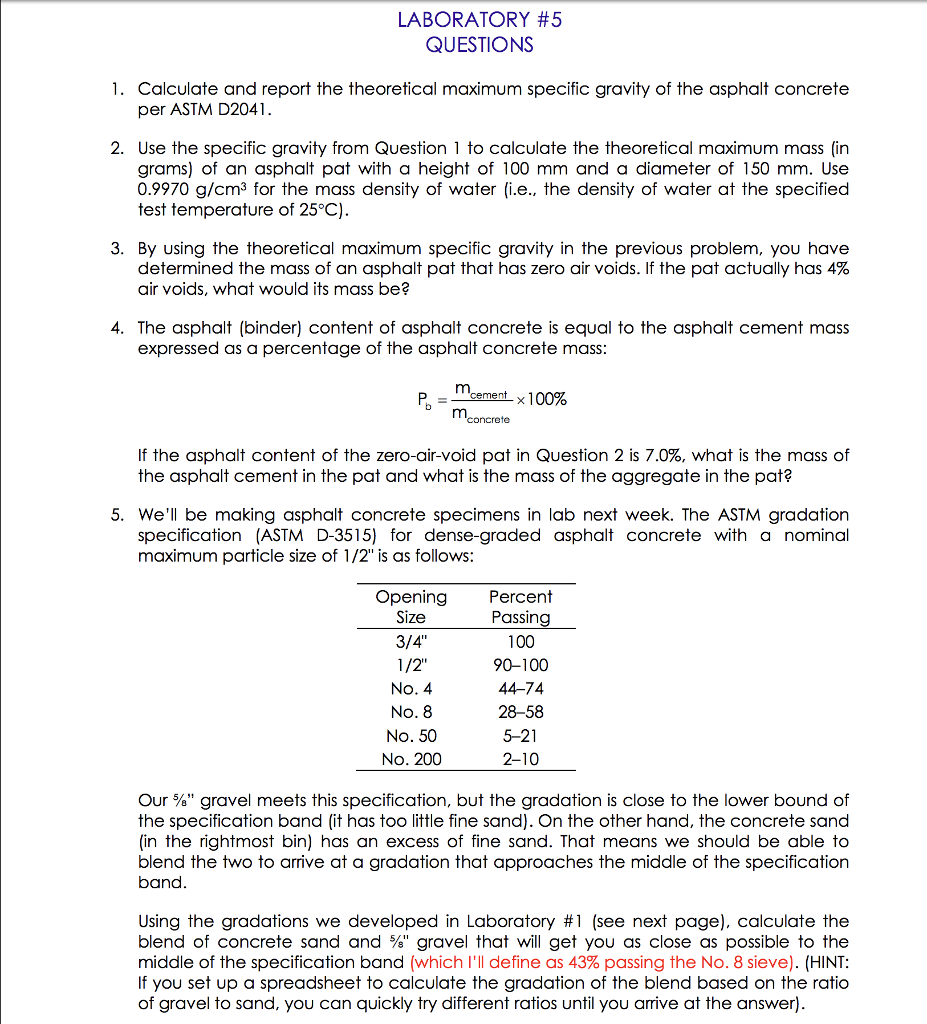 density and specific gravity lab report