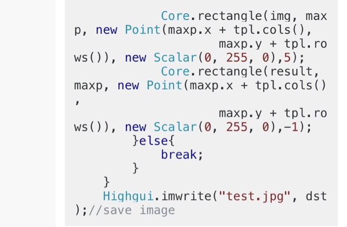 Solved: For Opencv Java,At Core Rectangle, After New Scala
