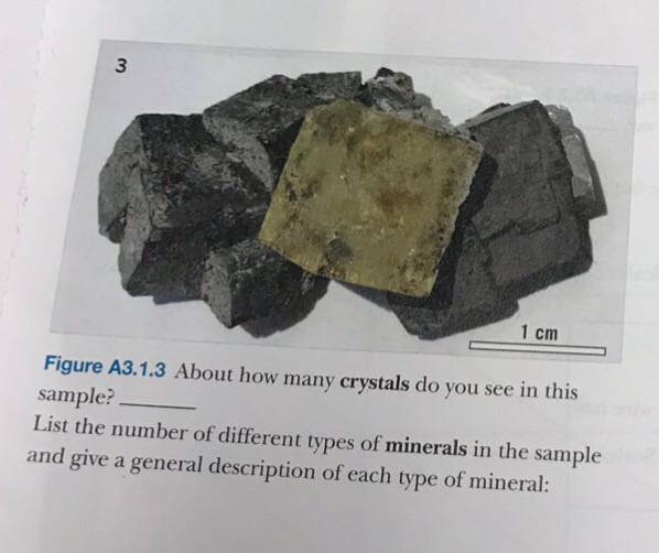 Solved: 3 1 Cm Figure A3 1 3 About How Many Crystals Do Yo