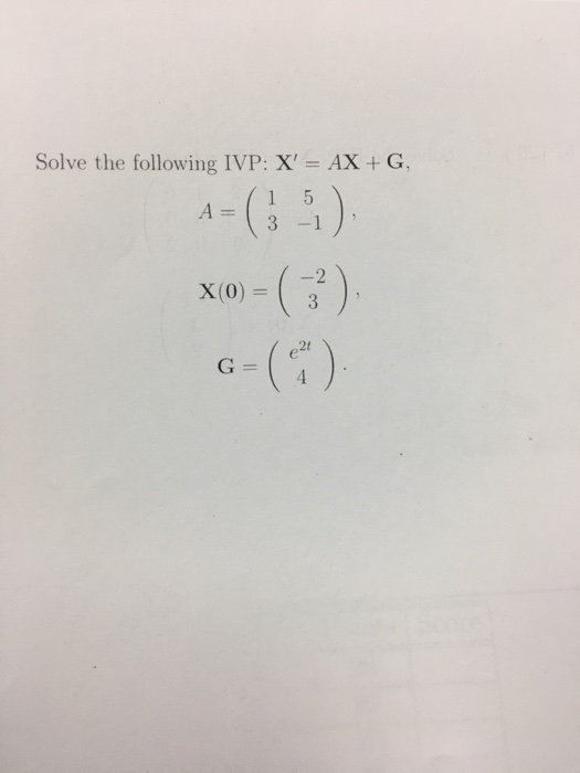 Advanced math archive november 20 2017 chegg solve the following ivp x ax g 3 1 2 x fandeluxe Images