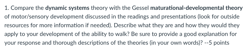 gessel theory