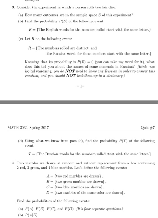 Statistics And Probability Archive April 07 2017