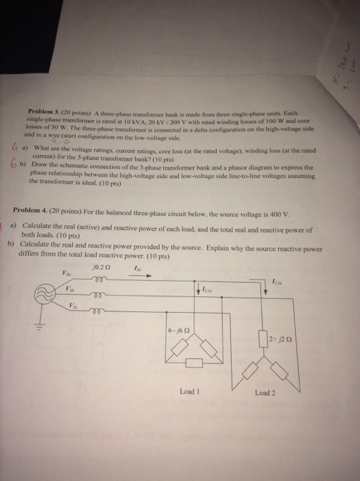 Solved: Problem 3. (20 Points) A Three-phase Transformer B ... on electrical transformer diagram, auto transformer diagram, ct transformer connection diagram, 3 phase wye wiring, 3 phase 480v distribution panel, 3 phase wiring schematic, single phase transformer diagram, current transformer diagram, 3 phase transformer formulas, 3 phase angle meter, step up transformer diagram, 3 phase y diagram, 3 phase pad-mounted transformer, power pole transformer diagram, transformer vector group diagram, 3 phase step down transformer, 3 phase voltage, 3 phase power metering 2 transformer, 3 phase phasor diagram, 3 phase power diagram,