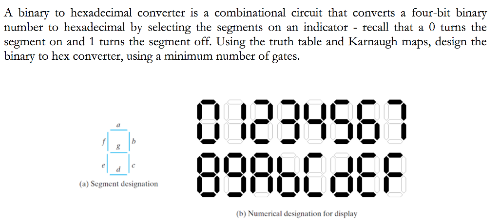 solved a binary to hexadecimal converter is a combination