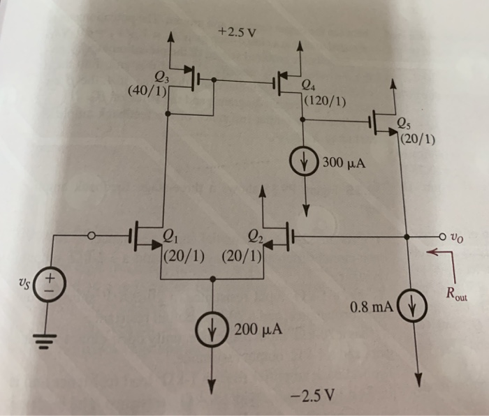 Solved: Amplifier Ur With Eing And D 9 32 Figure P9 32 Sho