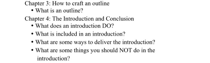 what is included in an introduction