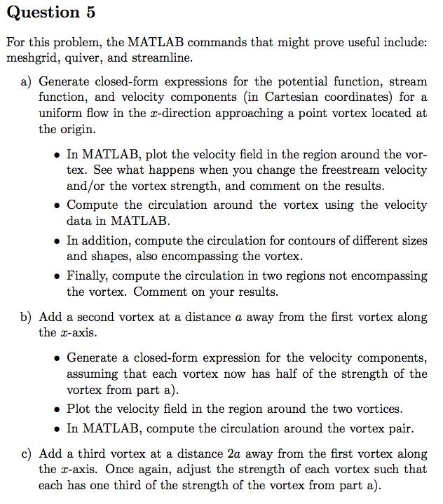 Streamline Data Matlab