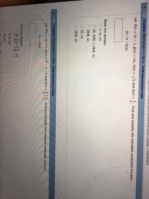 �9ᢹ�9f�x�r[��x��_Solved:LetF(x)=8x-9,G(x)=|x|,H(x)=SquarerootX|Chegg.com