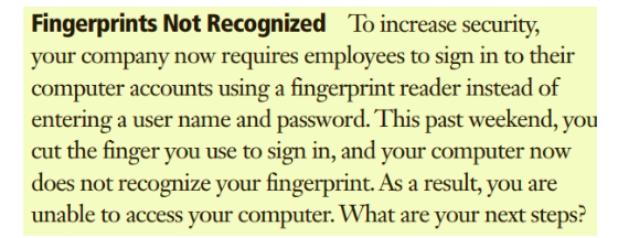 Solved: Fingerprints Not Recognized To Increase Security