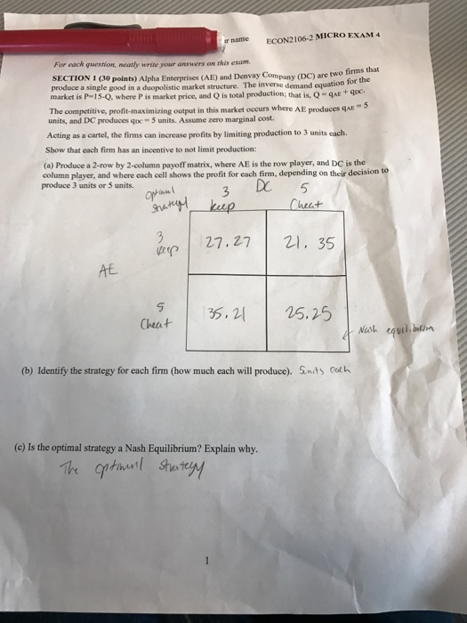 econ 2106 exam 3 cheat sheet