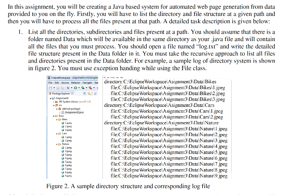 In This Assignment, You Will Be Creating A Java Ba