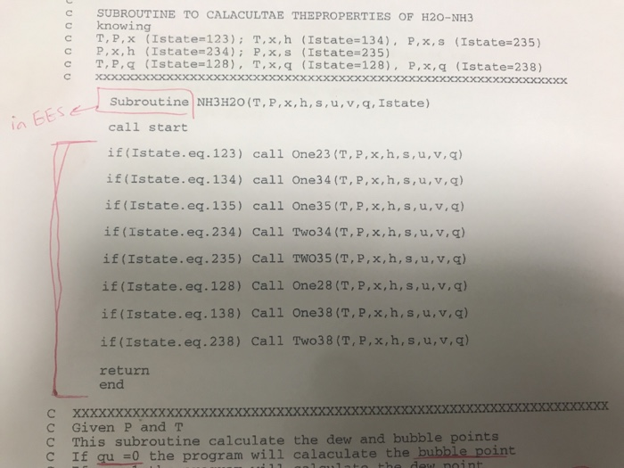 How To Convert This Code From Fortran To EES ( Eng