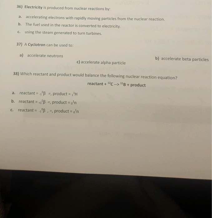 solved please help i need solutions for my study guide my rh chegg com Nuclear Reactions Examples nuclear reactions study guide answers