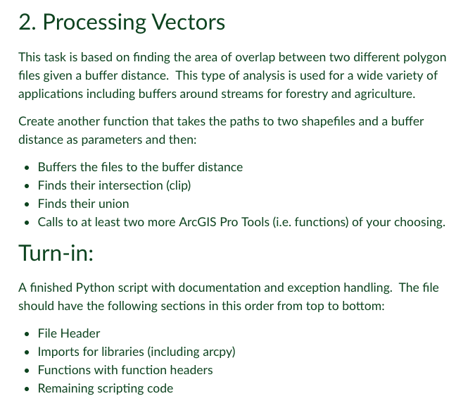 2  Processing Vectors This Task Is Based On Findin    | Chegg com