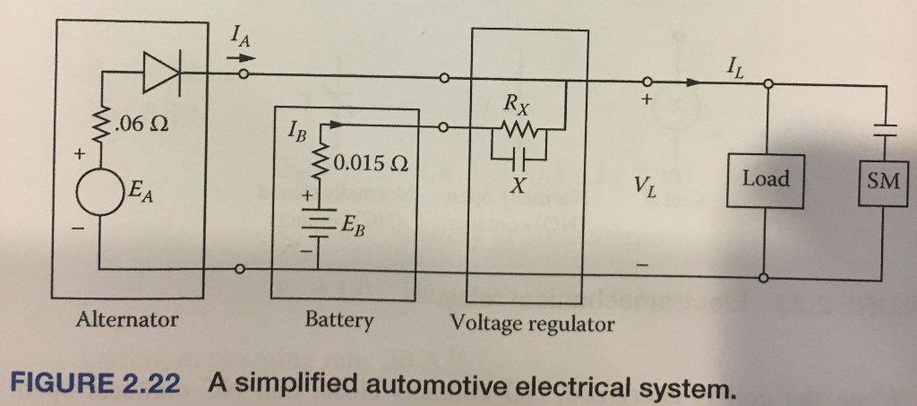 Solved: 2.29. Consider The Automotive Electrical System De ... on basic auto drive train diagram, auto electrical wiring diagram, automotive starter diagram, basic automotive electrical systems, basic ac electrical power diagrams, basic auto wiring diagram, auto air conditioning diagram, basic automotive electrical layout, basic car electrical system, electric transport system diagram, basic electrical schematic diagrams,