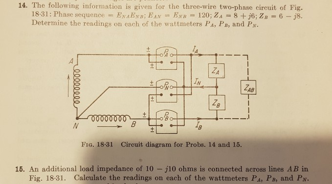 Solved: 14. The Following Information Is Given For The Thr ... on pa speaker wiring, pa system setup diagram, pa piping diagram, 70v system diagram, speaker diagram,