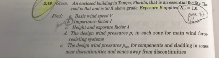 Solved: 2 19 Given: An Enclosed Building In Tampa, Florida