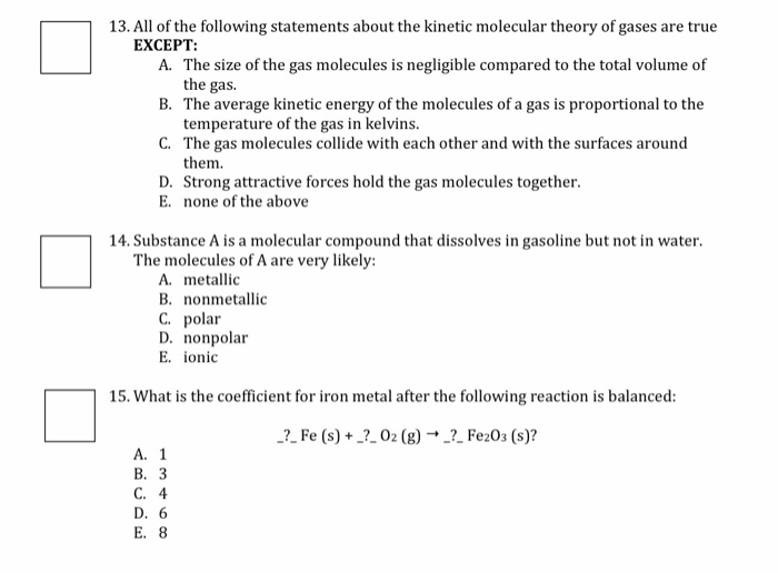 6.5: More on Kinetic Molecular Theory - Chemistry LibreTexts
