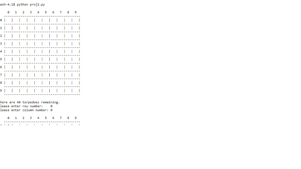Solved Need Help With Printing The 10 X 10 Grid For Battl Chegg Com