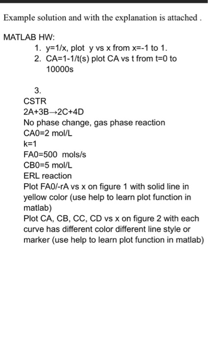 Example Solution And With The Explanation Is Attac
