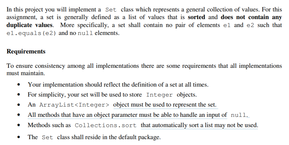 JAVA  I Need Help Completing This Assignment  PLEA