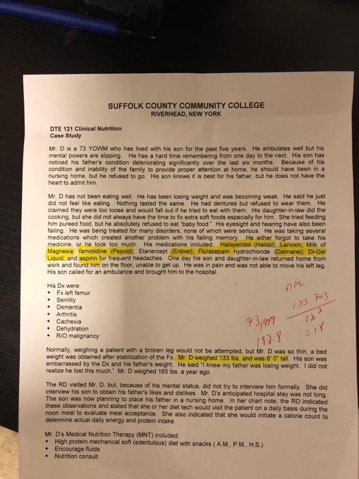Solved: SUFFOLK COUNTY COMMUNITY COLLEGE RIVERHEAD, NEW YO