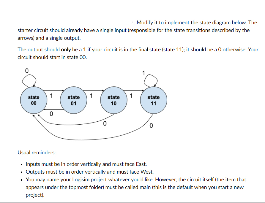 solved you have to complete the diagram with the result f