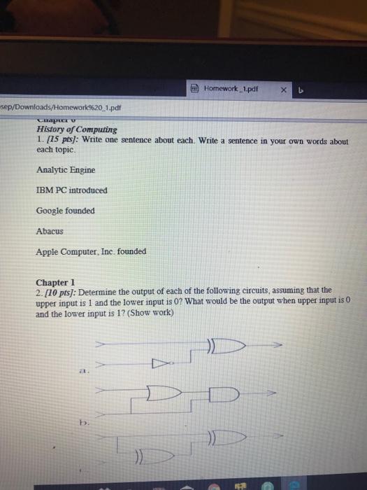 Solved: Homework_1 pdfx Sep/Downloads/Homework%20 1  pdf A