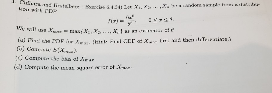 Solved: Tion With PDF A, And Hestelberg : Exercise 6 4 34