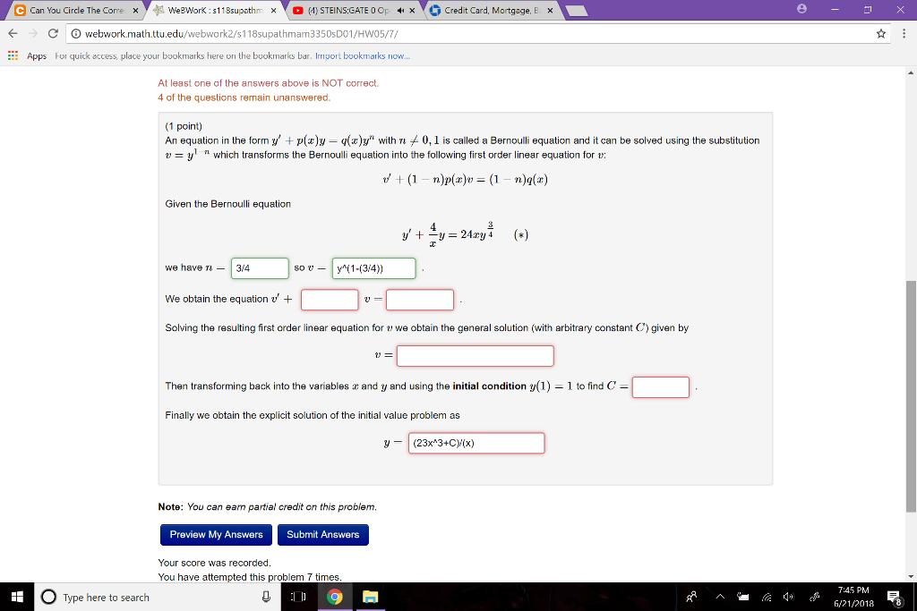 Solved: E Can You Circle The Corre WeBWorK : 118supathn ?O
