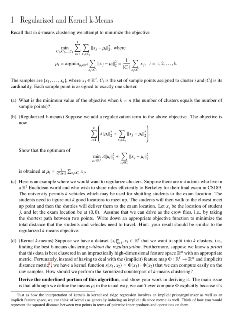 Cs189 Homework